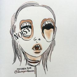 INKTOBER-noisy